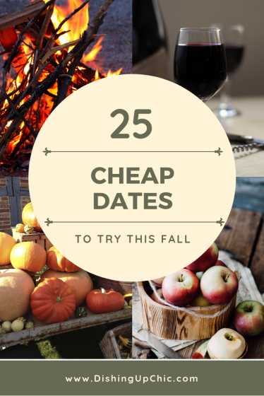 Cheap Dates to try this fall